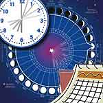 تاریخ شمسی و قمری منطبق با میلادی دستگاه اذان